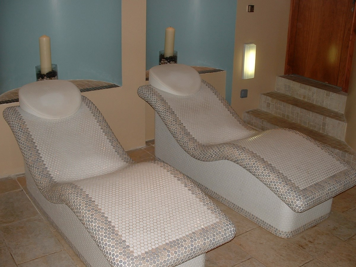 Heated Loungers And Curved Shower Swansea Wales Bos