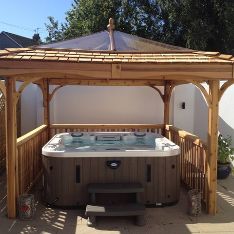 Marquis Epic Spa and Gazebo, Cornelly, south Wales
