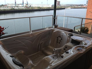 Caldera Spa, Swansea Marina Balcony, Swansea, south Wales