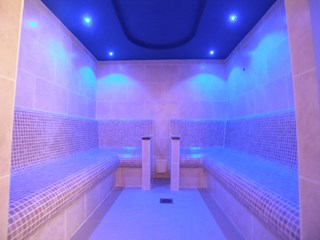 Commercial Tiled Steam Room, Pontypool, Torfaen, south Wales