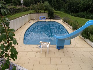 Liner Pool Refurbishment, Usk Valley, south Wales