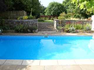 Outdoor Liner Pool Refurbishment, Vale of Glamorgan, south Wales