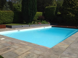 Liner Pool Refurbishment, Chepstow, Monmouthshire, south Wales