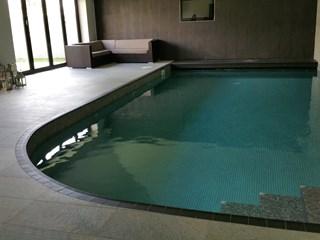 Curved Tiled Indoor Pool Swansea Bos Leisure