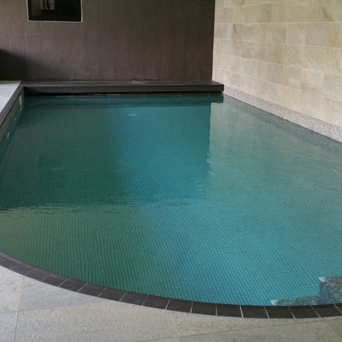 Curved Tiled Indoor Pool, Swansea