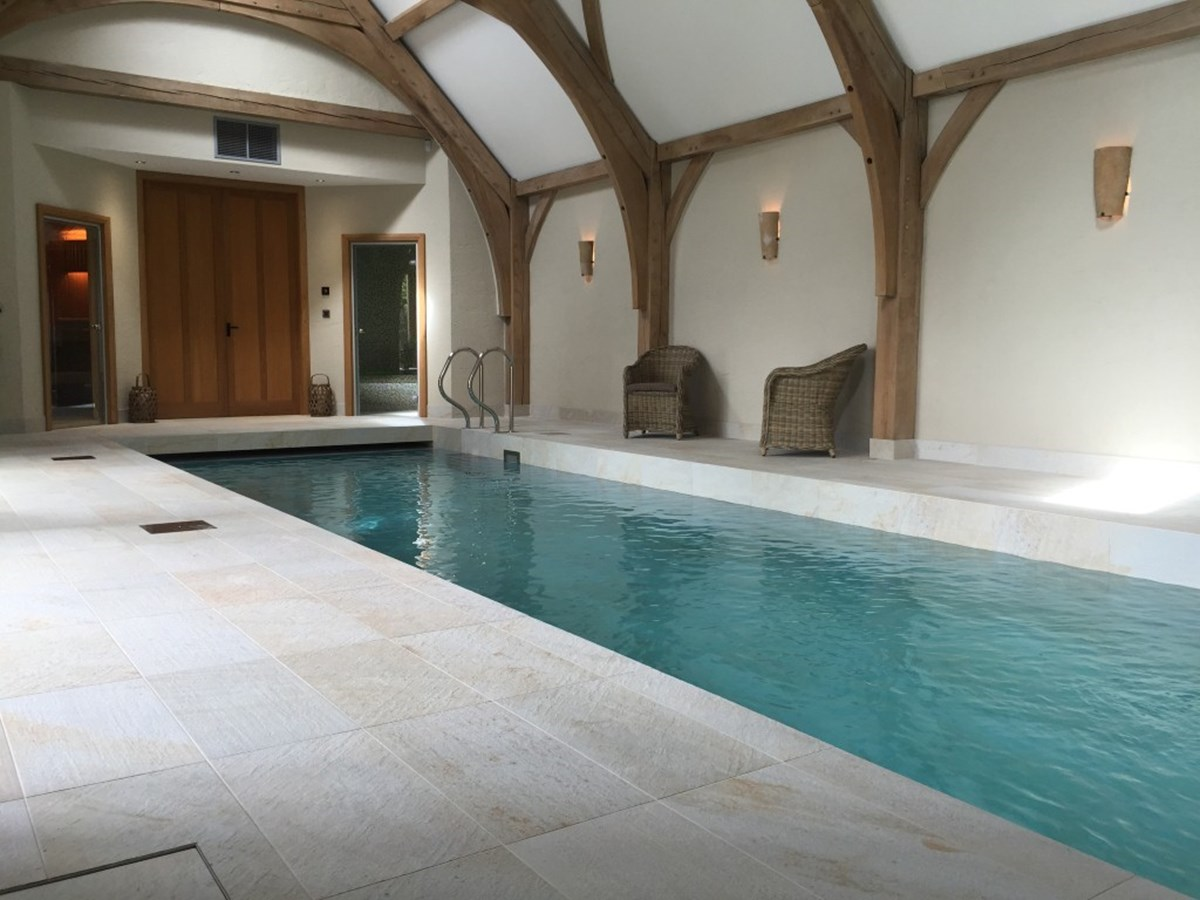 Luxury Indoor Tiled Pool Swansea Bos Leisure
